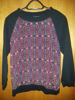 Nocollection Zijden blouse veelkleurig