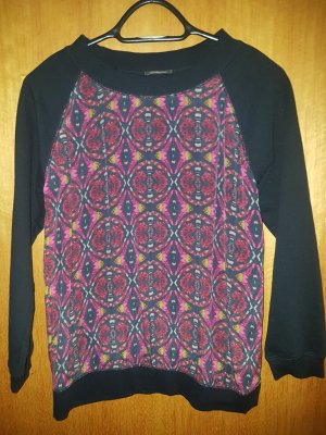 Nocollection Blusa in seta multicolore