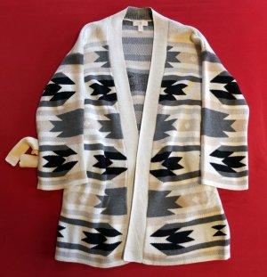 H&M Wraparound Jacket multicolored synthetic fibre