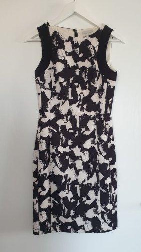 H&M Robe à capuche blanc-noir