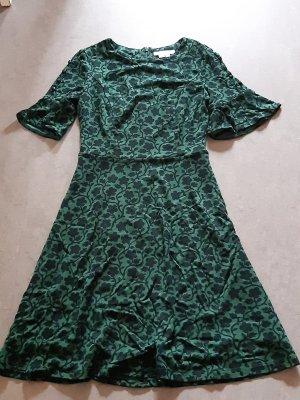 Boden Jersey Dress dark green-black