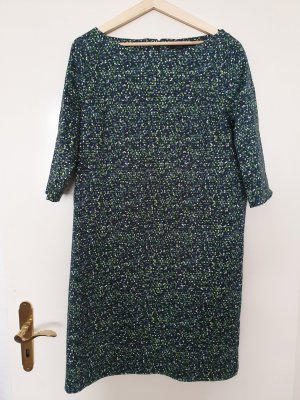 COS Robe à manches courtes vert-vert foncé