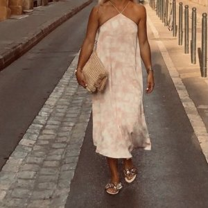 Gemustertes Kleid Batik H&M Grösse 36 Neu