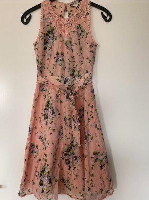 Koton Midi Dress multicolored cotton