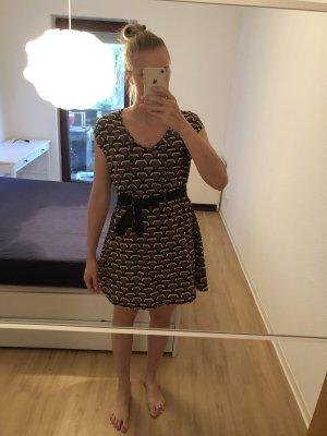 Gemustertes Kleid mit Schlaufe von Nümph