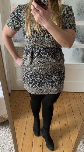 Gemustertes Kleid von H&M in Größe 38