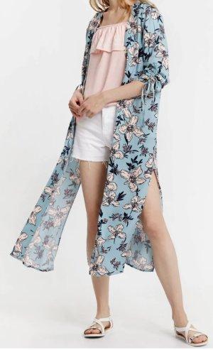 Gemustertes lange Kimono Bluse