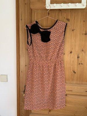 Cotton Candy Mini Dress apricot-black
