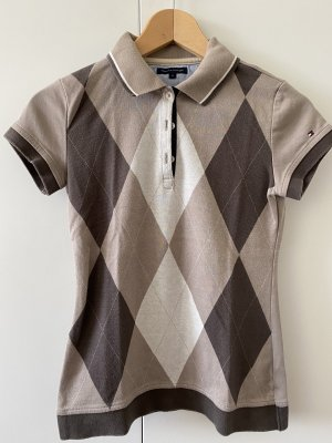 Gemustertes Polo-Shirt