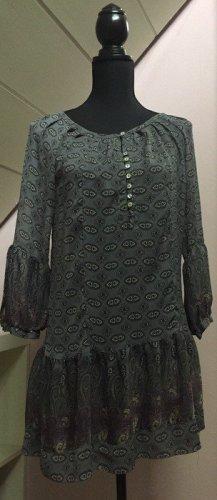 Gemustertes semitransparentes Kleid von Zara