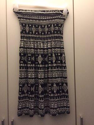 FB Sister Beach Dress white-black