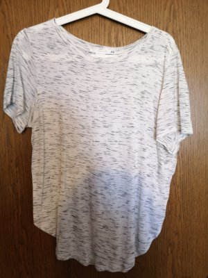 H&M T-shirt jasnobrązowy-kremowy