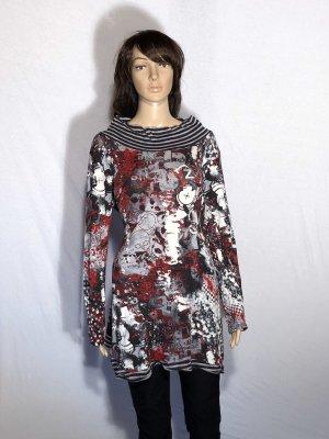 Gemustertes Tunika-Kleid