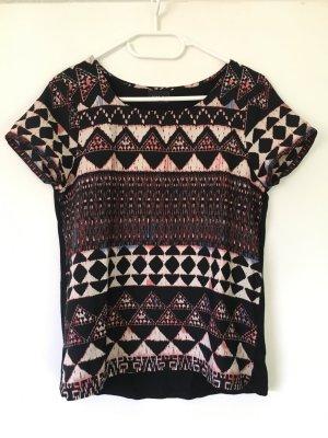 Gemustertes Vila T-Shirt