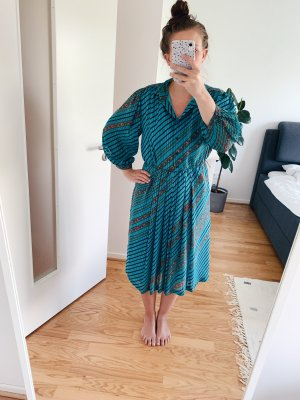 Gemustertes Vintage-Kleid