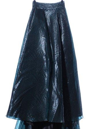 Gemy Le Pret Jupe en tulle bleu imprimé allover style extravagant