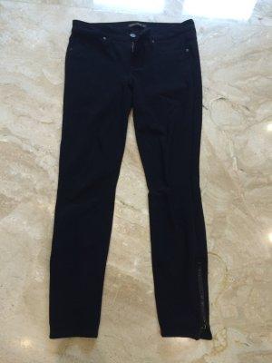 Genetic denim Trousers black