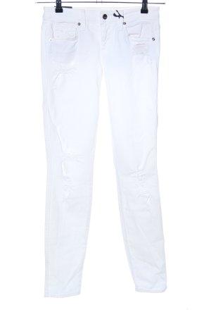 Genetic denim Skinny Jeans white casual look