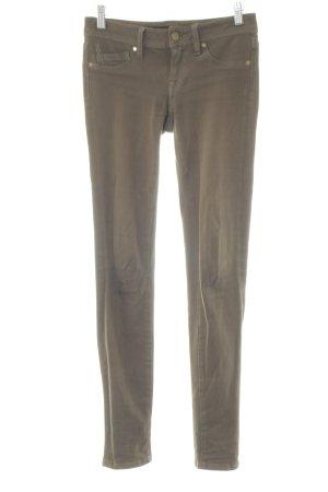 Genetic denim Skinny Jeans khaki Logo application (metal)