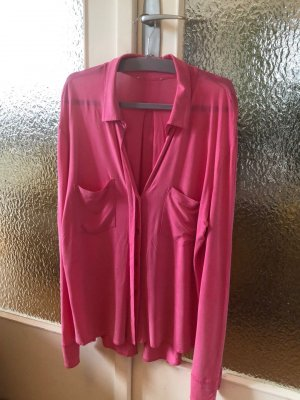 Blaumax Long Sleeve Blouse pink