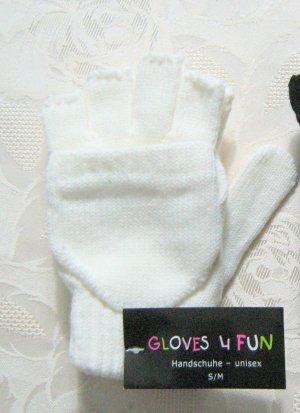 andere Marke Handschoenen zonder vingers wit