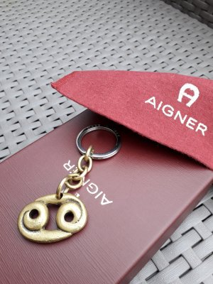 Aigner Key Chain silver-colored-gold-colored