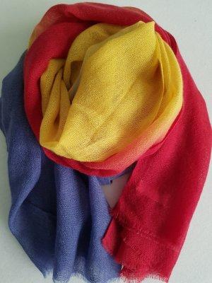 Écharpe en cachemire multicolore cachemire