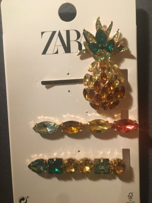 Zara Hair Clip multicolored metal
