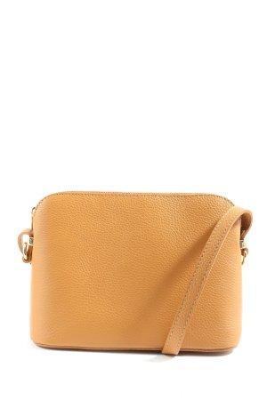 Genuine Leather Umhängetasche hellorange Casual-Look