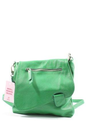 Genuine Leather Umhängetasche grün Casual-Look