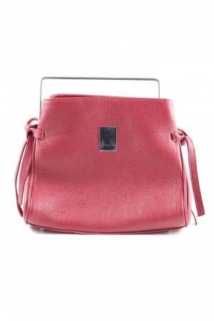 Handtasche rot Business-Look