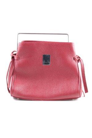 Handbag red business style