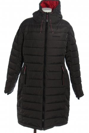 Geographical Norway Chaqueta con capucha negro Patrón de tejido look casual