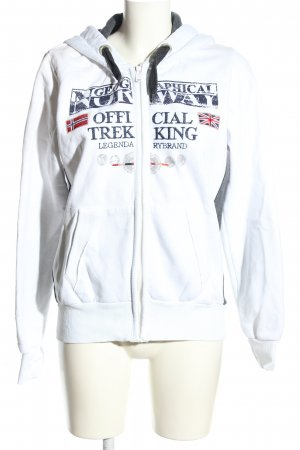Geographical Norway Sweatjacke mehrfarbig Casual-Look