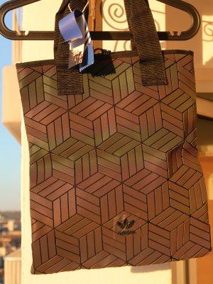 Geomtrische Adidas Tasche schwarz-bunt-changierend