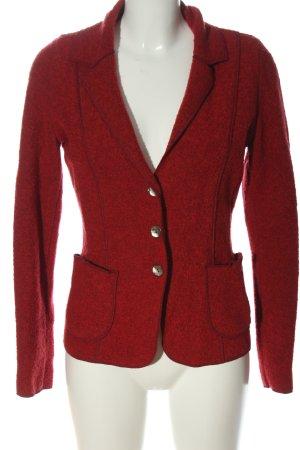Georg Maier Wool Blazer red business style
