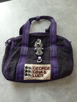 George Gina & Lucy Bolso violeta oscuro