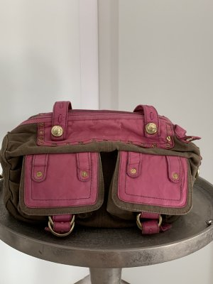 George Gina & Lucy Handbag pink-grey brown