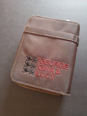 George Gina & Lucy Portafogli marrone scuro