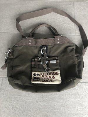 George Gina & Lucy Handtas khaki