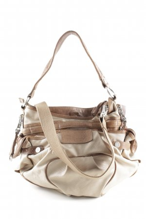 George Gina & Lucy Bolso barrel beige-marrón look casual