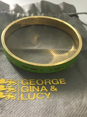George Gina & Lucy Jonc vert-doré