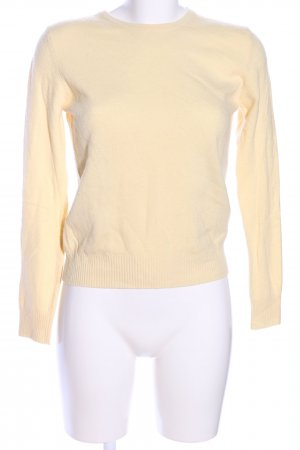 George Hogg Rundhalspullover creme Casual-Look