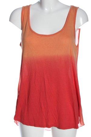 George. Długi top jasny pomarańczowy-czerwony Gradient W stylu casual