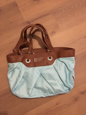 George Gina & Lucy Shopper brown-baby blue