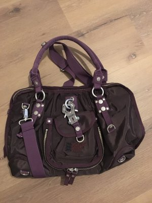 George Gina & Lucy College Bag brown-dark violet