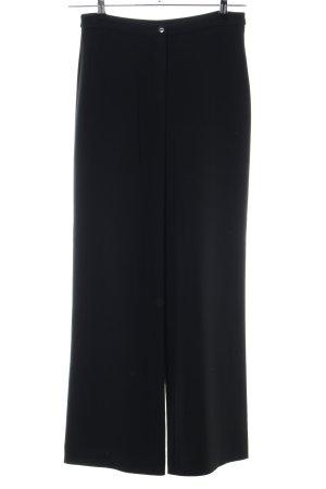 Georges Rech Pantalón de vestir negro estilo «business»