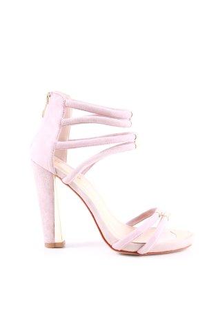 Georges Rech Riemchen-Sandaletten pink Casual-Look