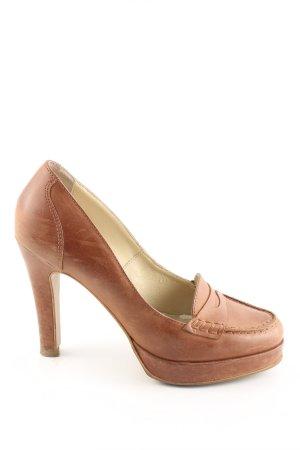 Georgia Rose High Heels braun Business-Look