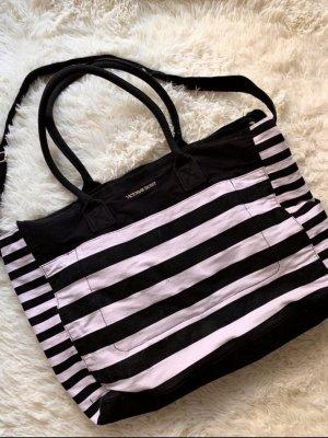 Victoria's Secret Torebka materiałowa czarny-różowy